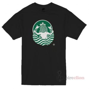 The Back Side Of The Starbucks Logo T-shirt Unisex