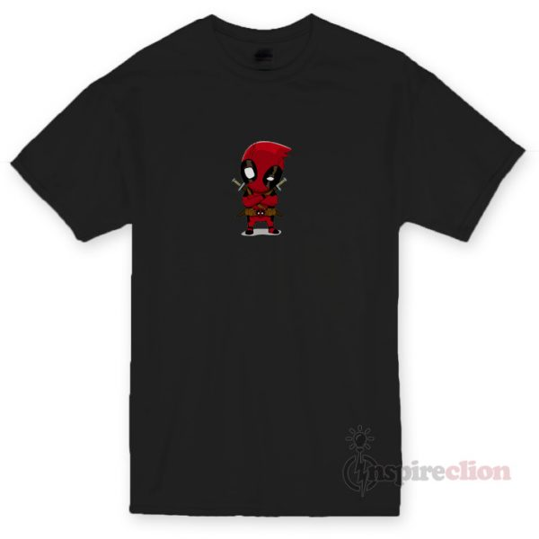 Little Deadpool Unisex T-shirt Cheap Custom