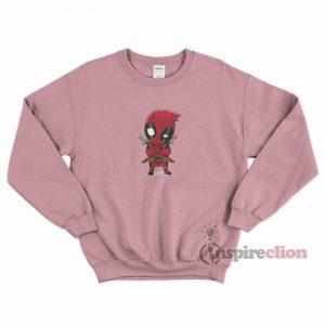 Little Deadpool Unisex Sweatshirt Cheap Custom