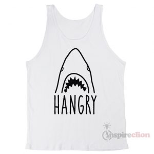 Hangry Shark Unisex Tank Top Cheap Custom