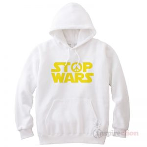 Stop Wars Star Wars Logo Hoodie Cheap Custom