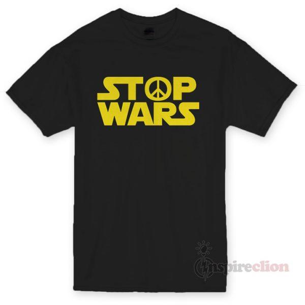 Stop Wars Star Wars Logo T-shirt Cheap Custom