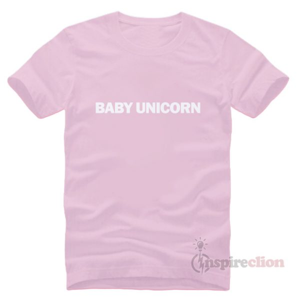 For Sale Baby Unicorn Short Sleeve T-shirt Unisex