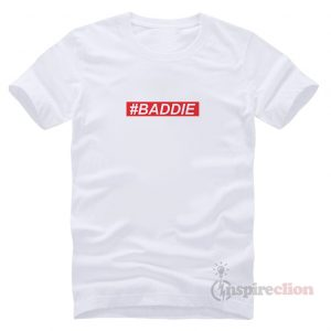For Sale Baddie Italic Red Box T-Shirt Unisex