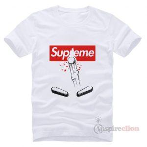 For Sale Supreme Stern Pinball Machine T-shirt Unisex