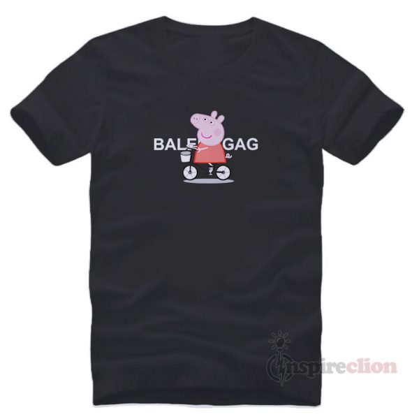For Sale Peppa Pig Bicycle Cartoon Short Sleeve T-shirt