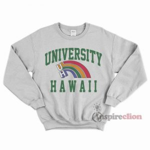 For Sale University Hawaii Long Sleeve Sweatshirt Unisex