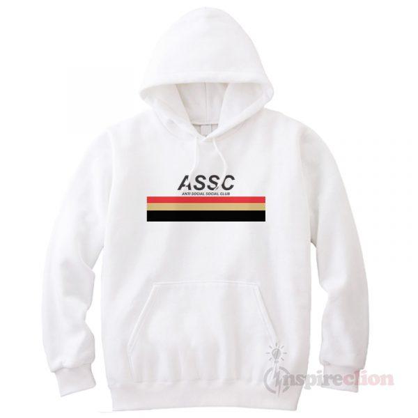 Anti Social Social Club ASSC 17FW Type Hoodie