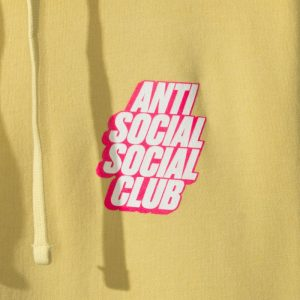 For Sale Anti Social Social Club ASSC Blocked Hoodie