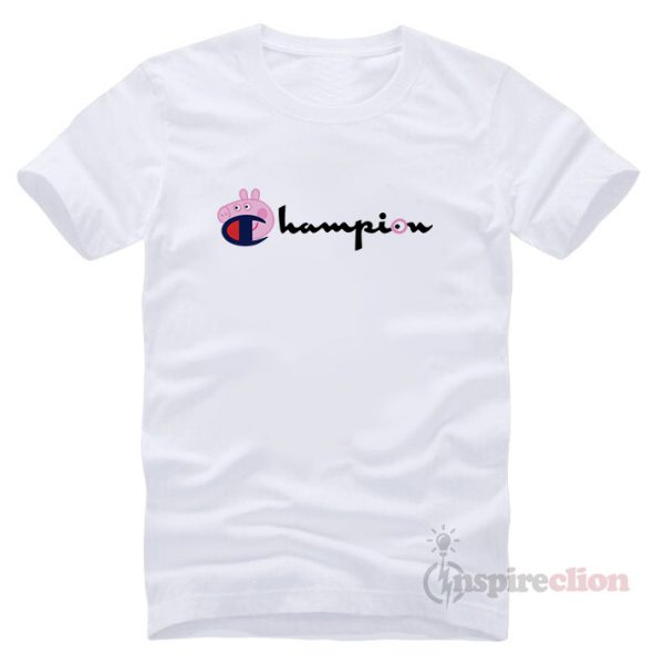For Sale Champion Collab Peppa Pig T-shirt