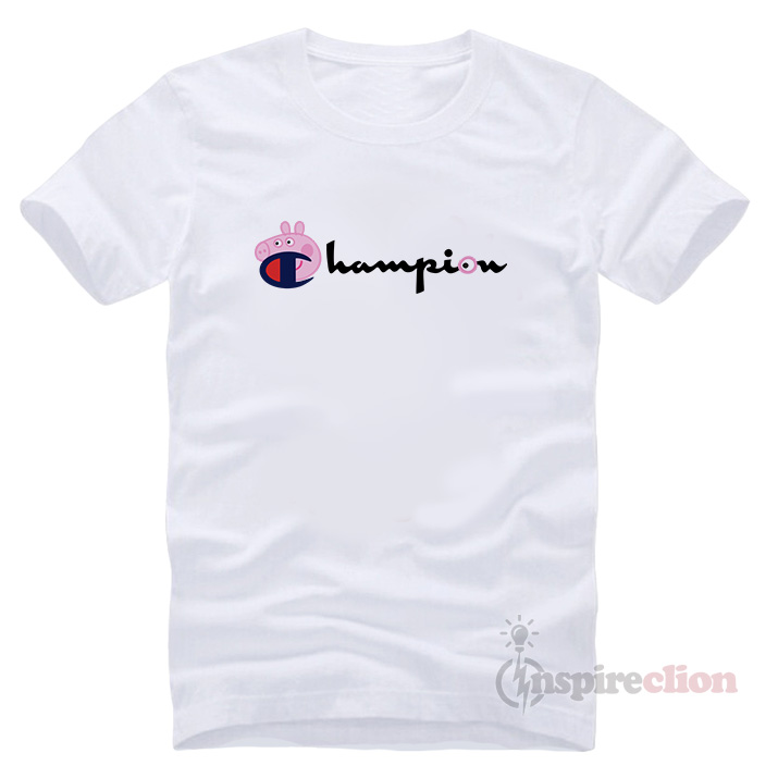 8d4dabeb7 For Sale Champion Collab Peppa Pig T-shirt Cheap Trendy - Inspireclion.com