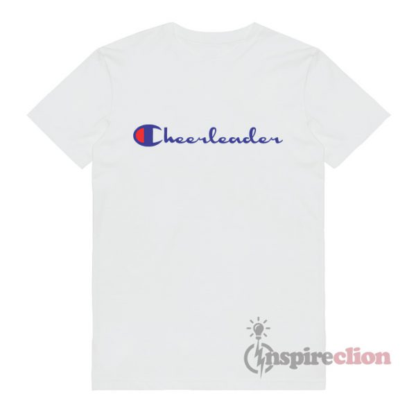 For Sale Cheerleader Champion Logo Parody T-Shirt