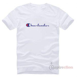 For Sale Cheerleader Champion Logo Parody T-Shirt