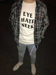 For Sale Eye Hate Neek Lurk White T-shirt Unisex