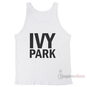 For Sale Ivy Park Logo Tank Top Unisex