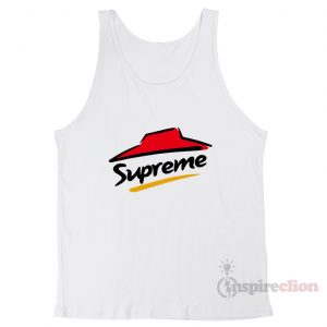 For Sale Supreme x Pizza hut logo Tank Top