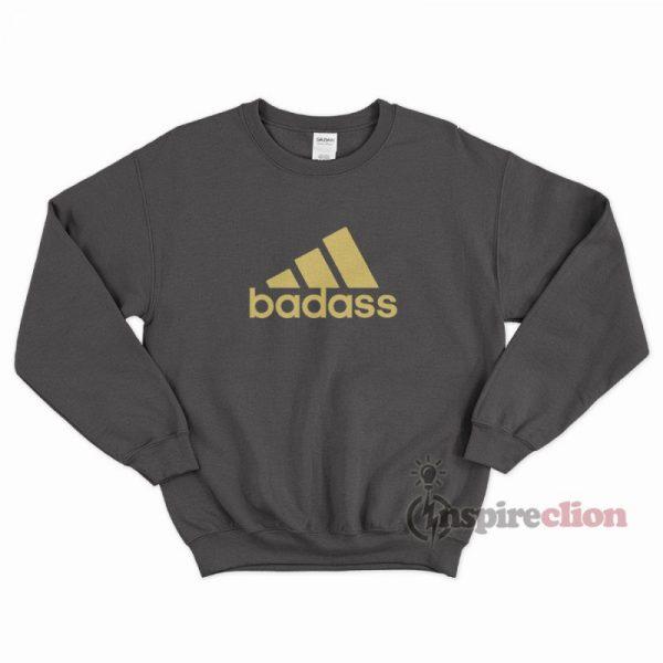 For Sale Badass Adidas Stripes Sweatshirt Cheap Trendy