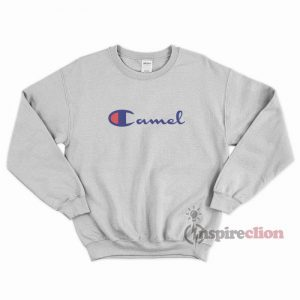 Camel x Champion Parody Sweatshirt Cheap Trendy