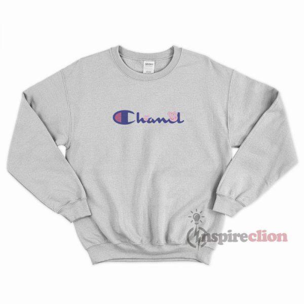 Chanel x Champion With Peppa Pig Sweatshirt