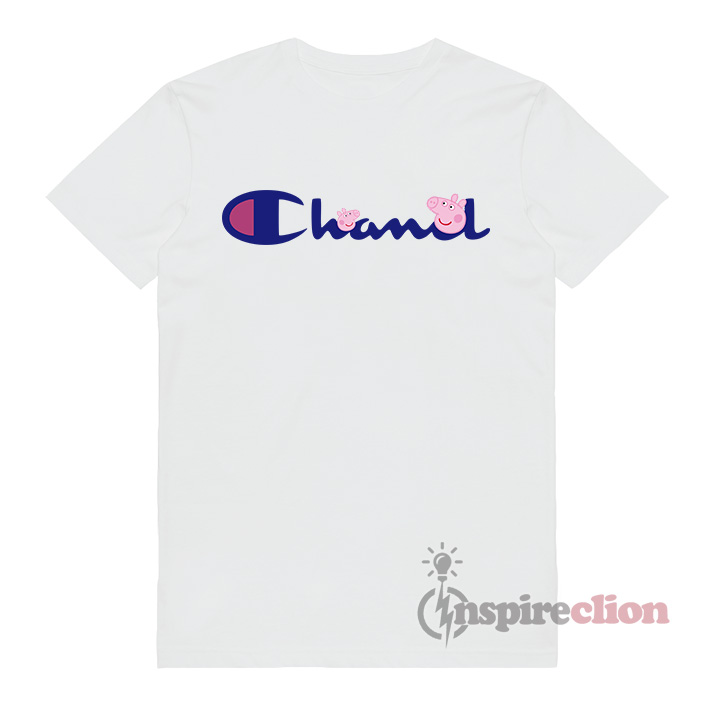 45d323d46 For Sale Chanel x Champion With Peppa T-shirt - Inspireclion.com