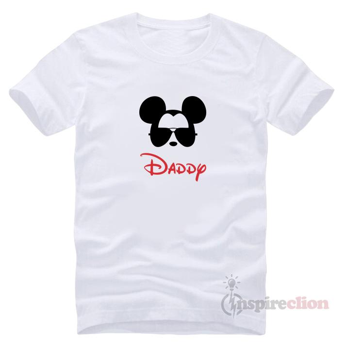 992e885d9 Vintage Walt Disney Daddy Mickey Mouse T-shirt - Inspireclion.com