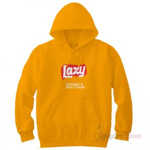 for-sale-lazy-lays-Cheddar & Sour Cream-hoodie-unisex-copy