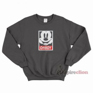 For Sale Oh Boy Mickey Mouse Obey Sweatshirt