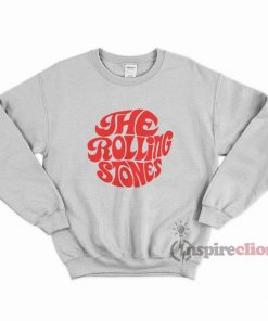 The Rolling Stones Merchandise Red Printed Sweatshirt