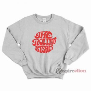 The Rolling Stones Merchandise Red Printed Sweatshirt