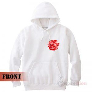 The Rolling Stones 2 Side Printed Merchandise Hoodie Unisex Trendy
