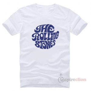 The Rolling Stones Merchandise Blue Printed T-Shirt