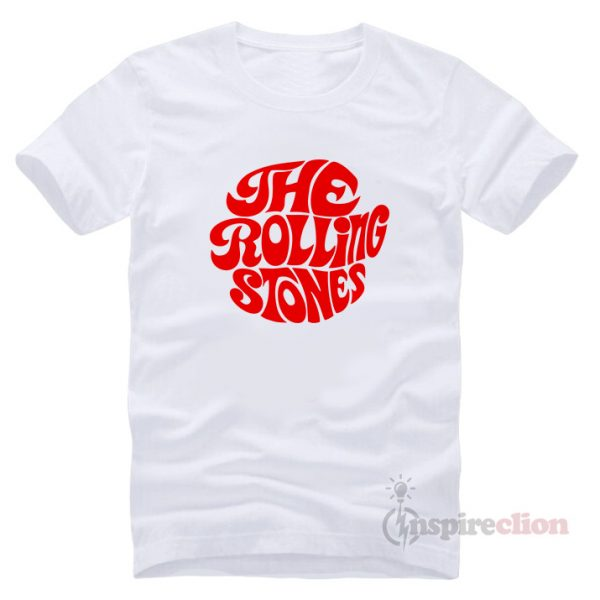 The Rolling Stones Merchandise Red Printed T-Shirt