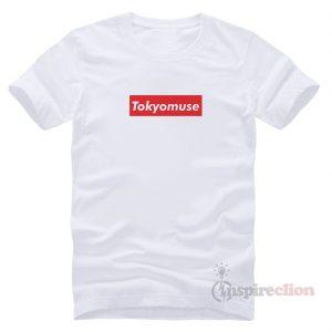 Tokyomuse Supreme Parody Red Box Logo T-shirt Clothes