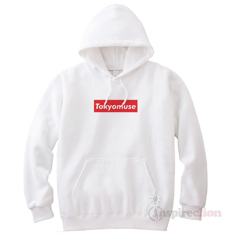 f072afde9 Tokyomuse Supreme Parody Red Box Logo Cheap Trendy Hoodie - Inspireclion