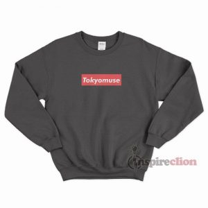 Tokyomuse Supreme Parody Red Box Logo Sweatshirt