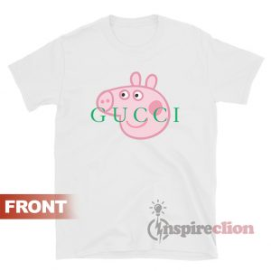 Peppa Pig Gucci T-shirt Cheap Trendy Clothes