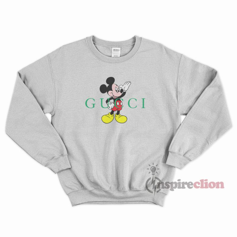 a4c72bbd Buy Or Shop, Mickey Mouse Parody Gucci Sweatshirt - Inspireclion.com