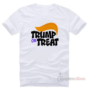 Buy Donald Trump Or Treat T-Shirt Trendy Custom