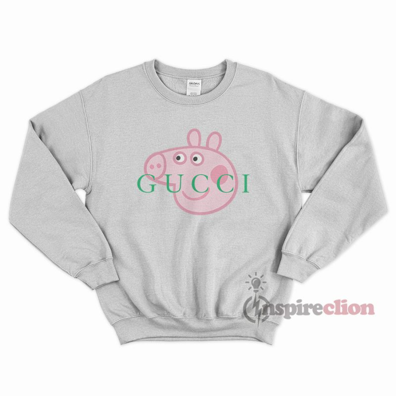 193e0bf19 Buy Or Shop, For Sale Peppa Pig Gucci Sweatshirt - Inspireclion.com
