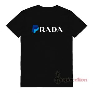 Paypal x Prada Parody Logo T-Shirt