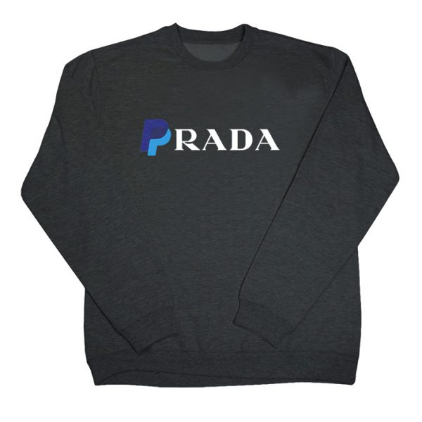 Paypal x Prada Funny Parody Logo Sweatshirt