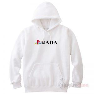Playstation Prada Funny Hoodie Trendy Custom