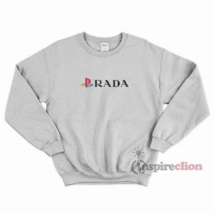 Gta Playstation x Prada Funny Sweatshirt Trendy