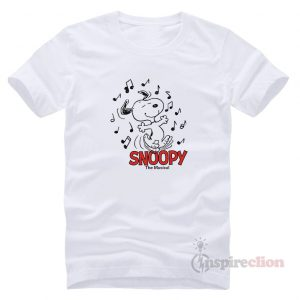 For Sale Peanut Snoopy The Musical Vinatge T-Shirt
