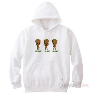 Guardians of the Galaxy Iam Groot Funny Hoodie Clothes