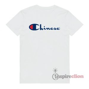 For Sale Chinese Champion Logo T-shirt