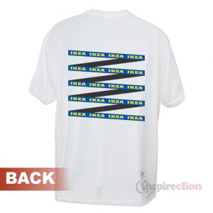 IKEA IKEA Long Strips Hype Logo T-shirt Cheap Custom