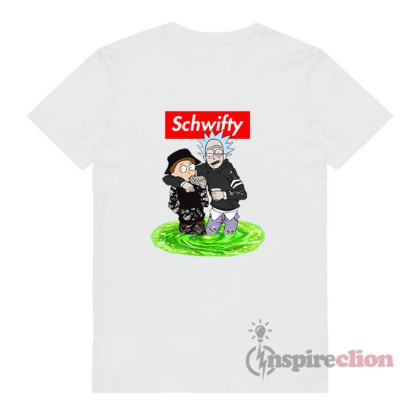 Schwifty Rick And Morty T-shirt Cheap Custom
