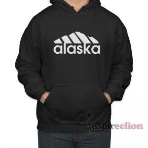 Alaska Adidas Logo Parody Hoodie Unisex Trendy Clothes