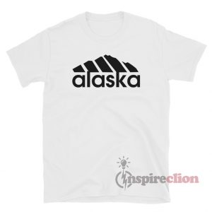 Alaska Adidas Logo Parody Funny T-Shirt